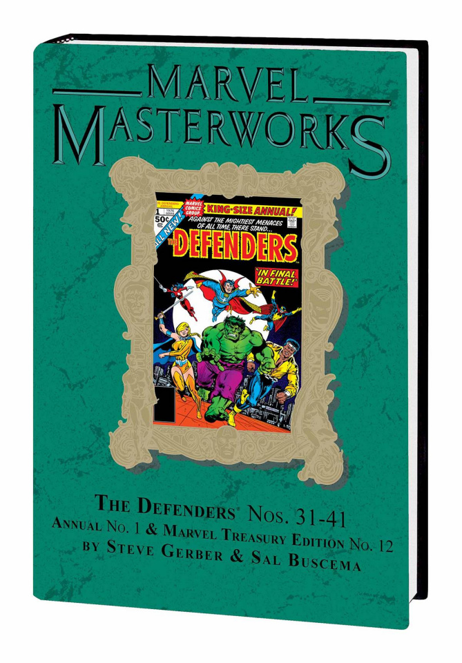 The Defenders Vol. 5 (Marvel Masterworks)