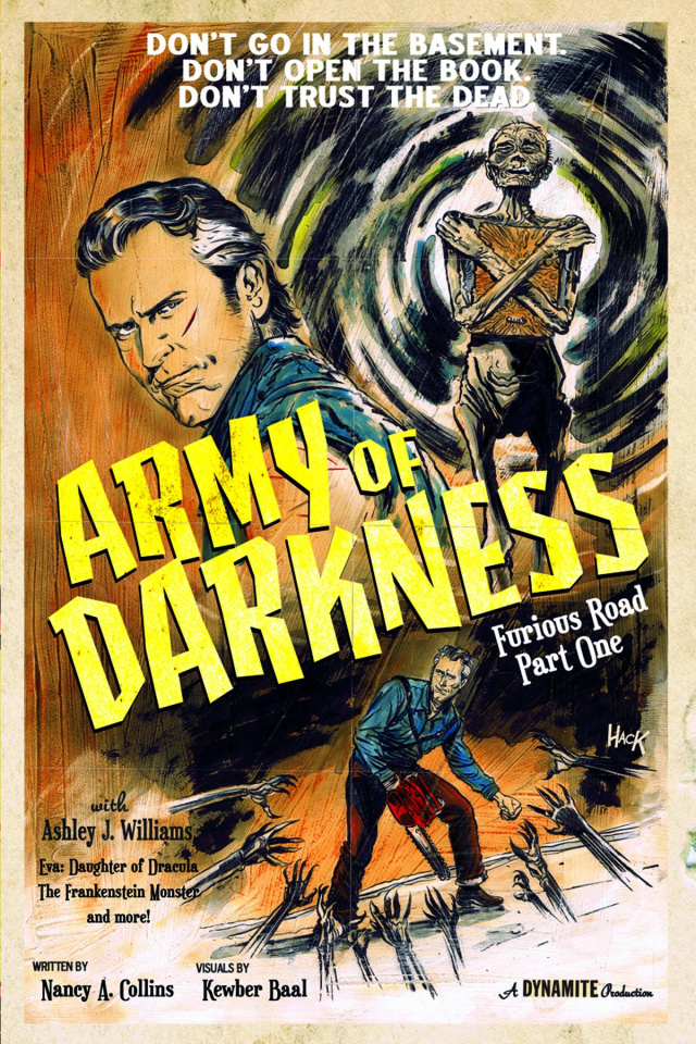 Army of Darkness: Furious Road #1 (Subscription Cover)