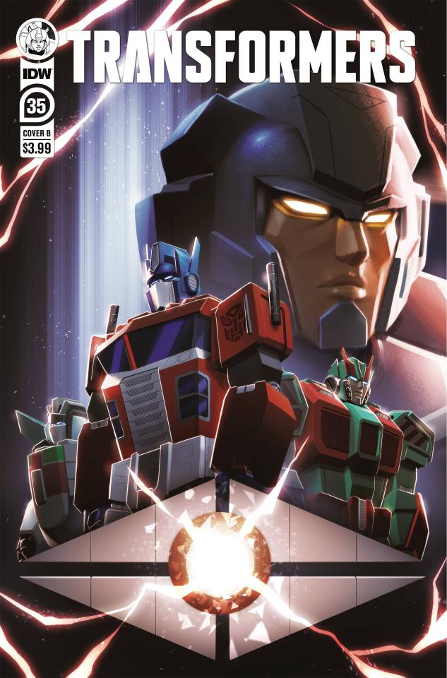 The Transformers #35 (Lafuente Cover)