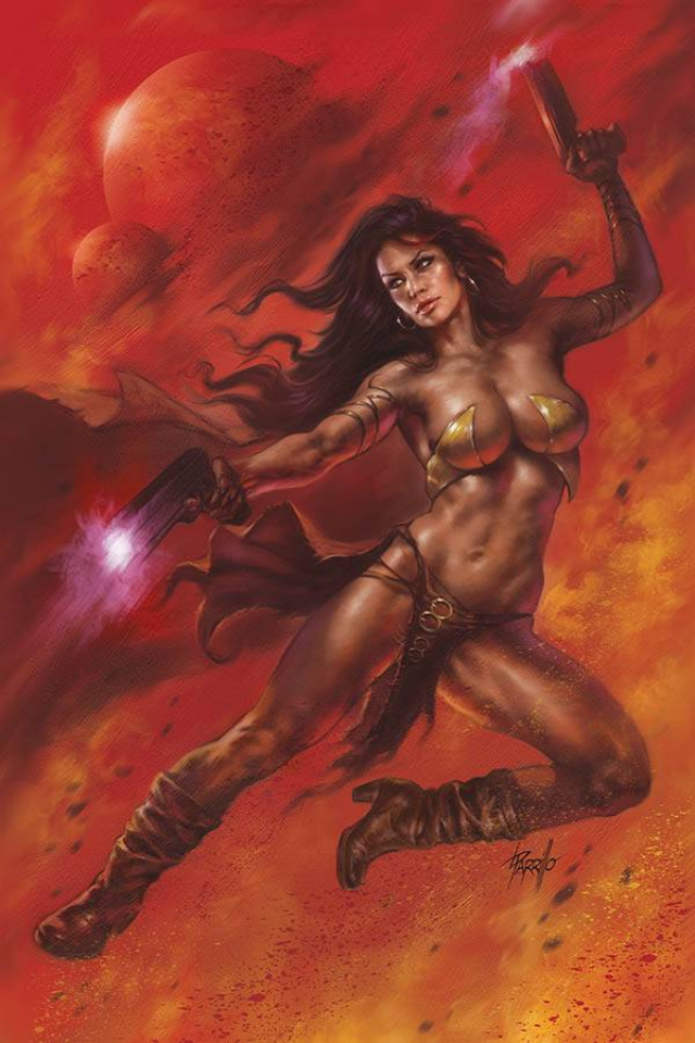 Dejah Thoris #6 (Parrillo Virgin Cover)