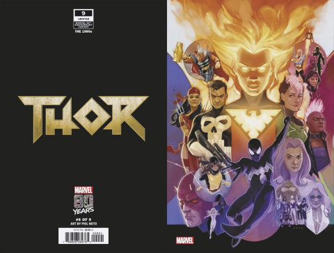 Thor #9 (Noto Marvel 80th Anniversary Cover)