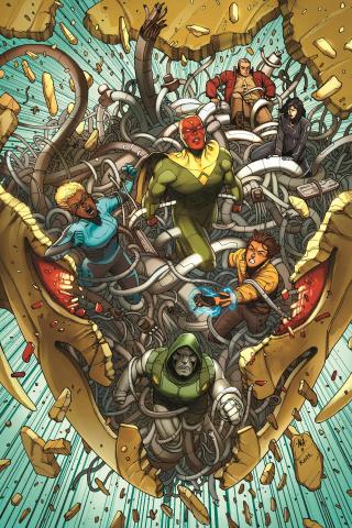 Avengers AI #1 (Araujo Cover)