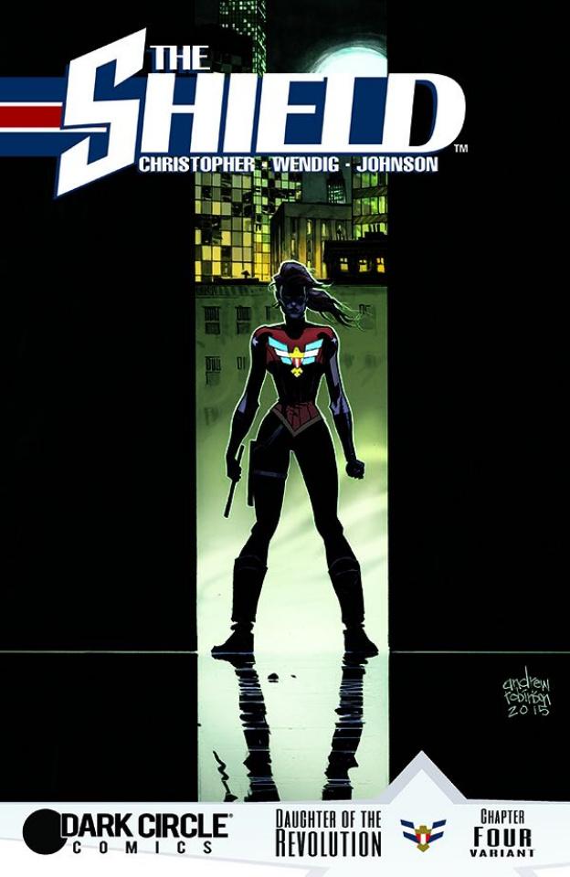 The Shield #4 (Robinson Cover)
