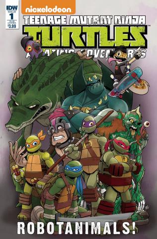 Teenage Mutant Ninja Turtles: Amazing Adventures - Robotanimals #1 (Subscription Cover)