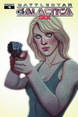 Battlestar Galactica: Six #4 (Frison Cover)