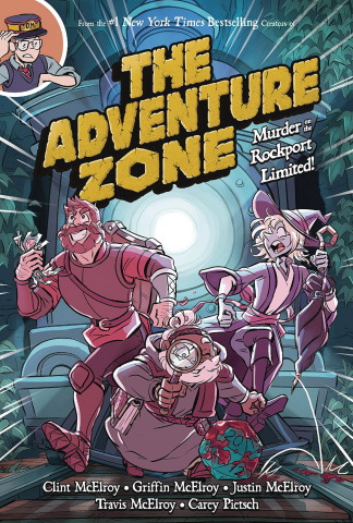 The Adventure Zone Vol. 2: Murder on the Rockport Limited!
