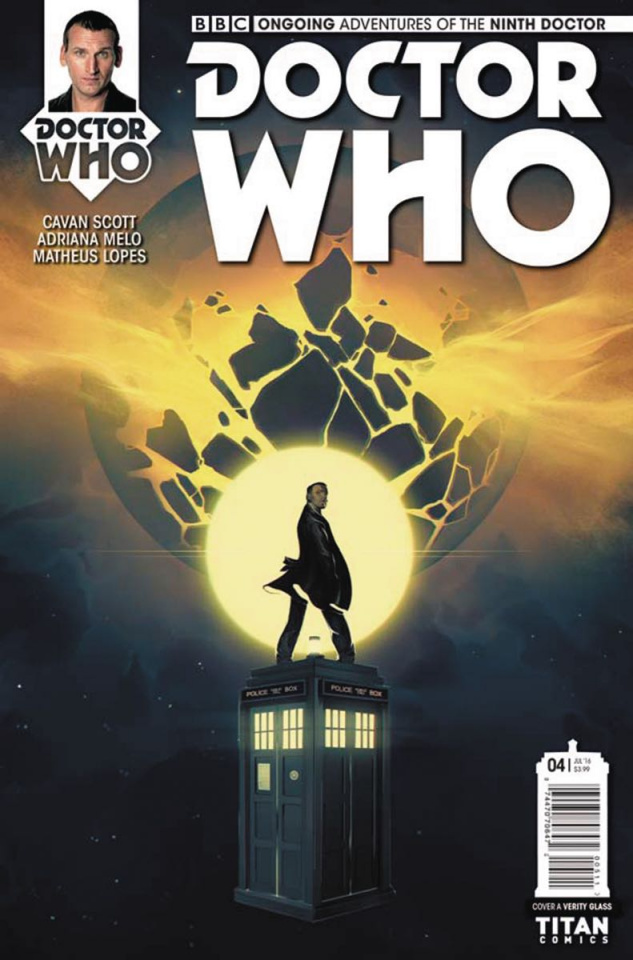 Doctor Who: New Adventures with the Ninth Doctor #4 (Glass Cover)