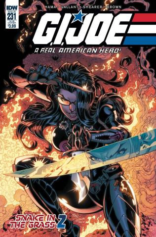 G.I. Joe: A Real American Hero #231 (Subscription Cover)