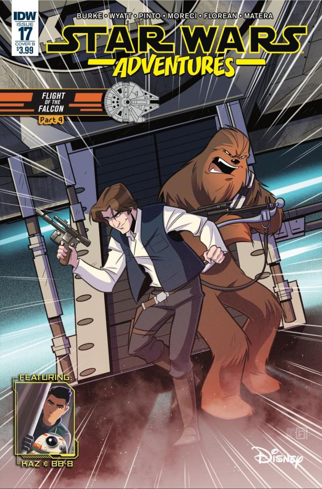 Star Wars Adventures #17 (Florean Cover)