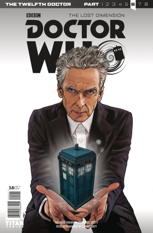 Doctor Who: New Adventures with the Twelfth Doctor, Year Three #8 (Klebs Jr. Cover)