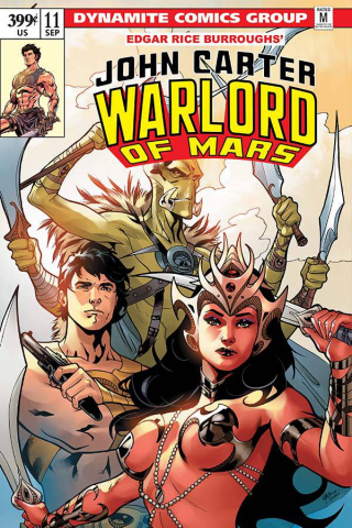 John Carter: Warlord of Mars #11 (Lupacchino Cover)