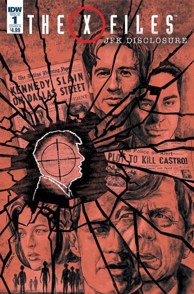 The X-Files: JFK Disclosure #1 (Lendl Cover)