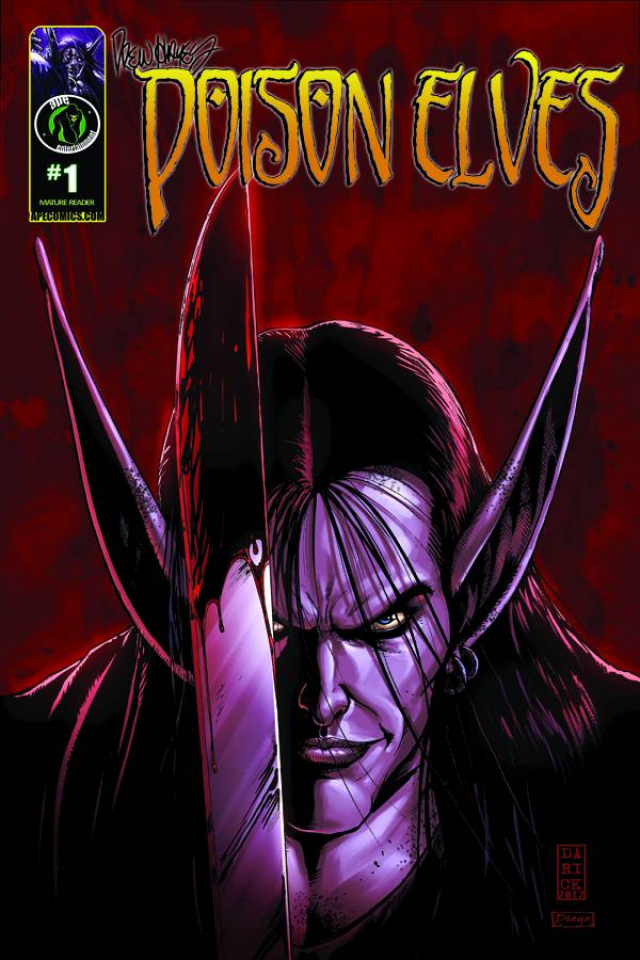 Poison Elves #1 (Robertson Cover)