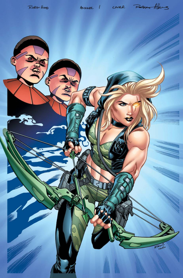 Grimm Fairy Tales: Robyn Hood Annual #1 (Atkins Cover)