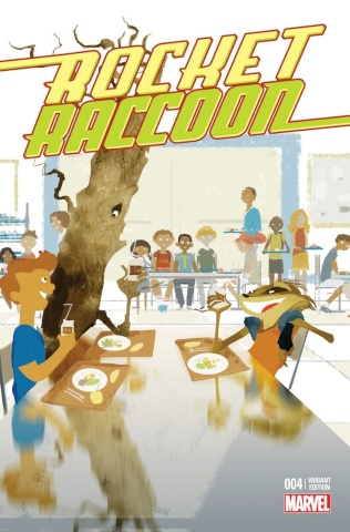 Rocket Raccoon #4 (Stomp Out Bullying Cover)