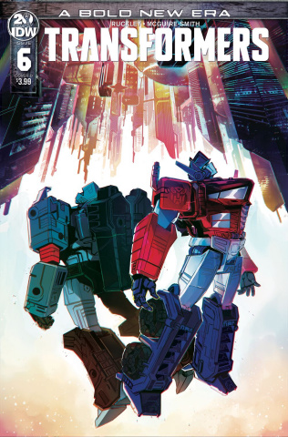The Transformers #6 (McGuire Smith Cover)