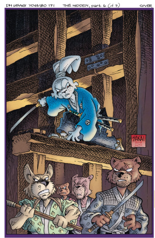 Usagi Yojimbo #6: The Hidden