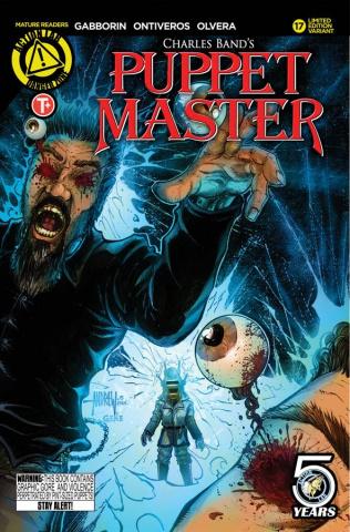 Puppet Master #17 (Mangum Kill Cover)