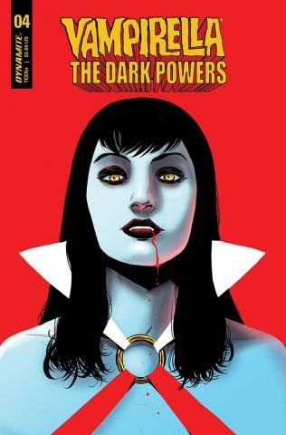 Vampirella: The Dark Powers #4 (15 Copy Moss Cover)