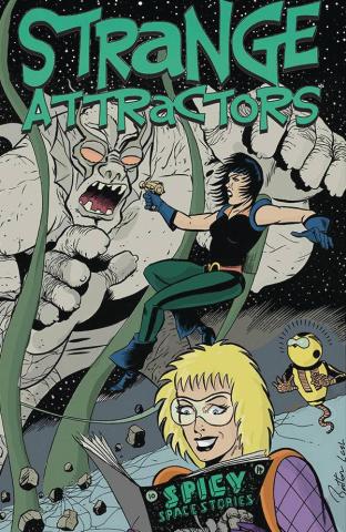 Strange Attractors #3 (Batton Lash Cover)