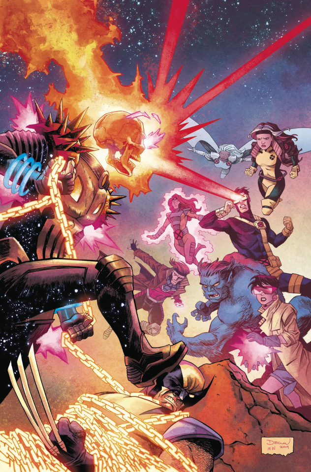 Cosmic Ghost Rider Destroys Marvel History #3 (Shalvey Cover)