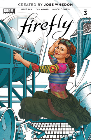 Firefly #3 (Quinones Cover)