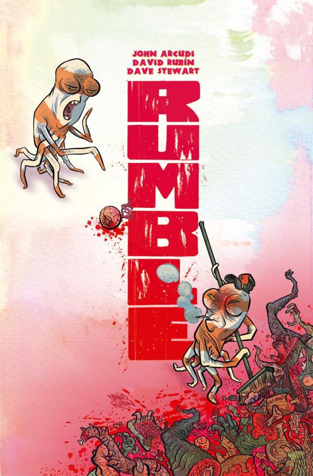 Rumble #3 (Rubin Cover)