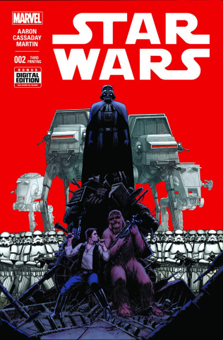 Star Wars #2 (Cassaday 3rd Printing)
