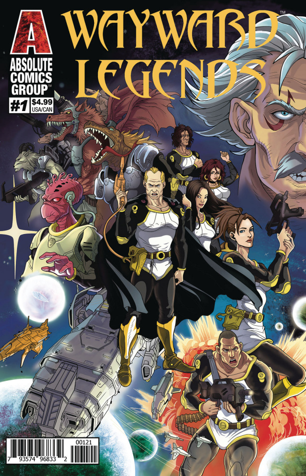 Wayward Legends #1 (Holographic Gold Foil Cover)