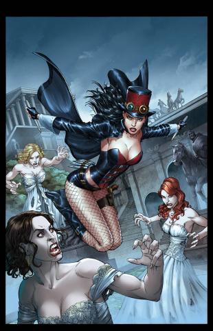 Grimm Fairy Tales: Van Helsing #2 (Miller Cover)