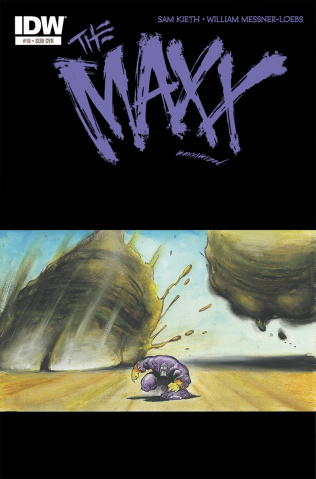 The Maxx: Maxximized #18 (Subscription Cover)