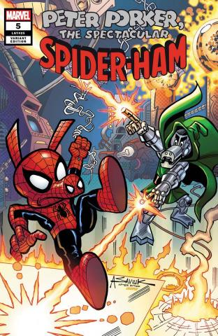 Spider-Ham #5 (Saviuk Cover)