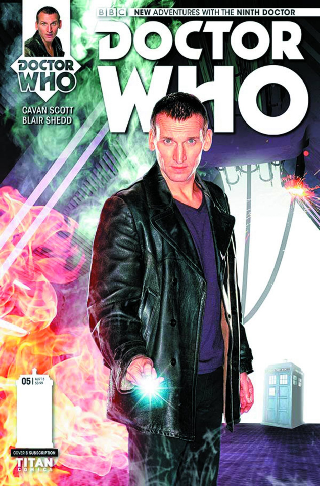 Doctor Who: New Adventures with the Ninth Doctor #5 (Subscription Photo Cover)
