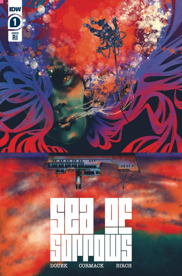 Sea of Sorrows #1 (10 Copy Sawatsky Cover)