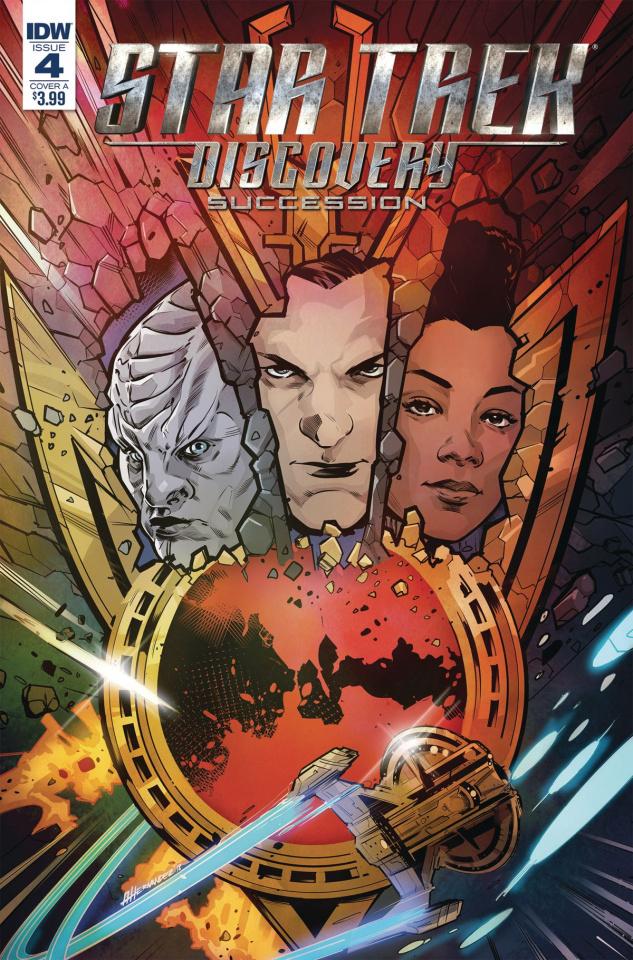 Star Trek: Discovery - Succession #4 (Hernandez Cover)