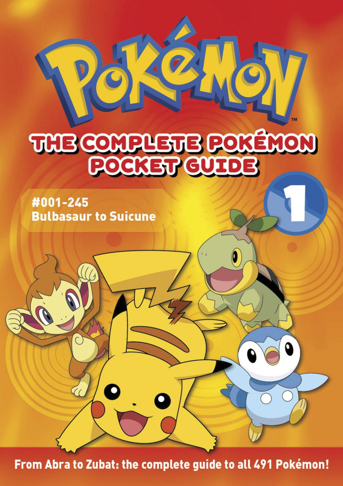 Pokemon: The Complete Pocket Guide Vol. 1 (2nd Edition)
