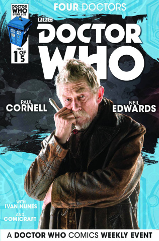 Doctor Who: Four Doctors #1 (Subscription Photo Cover)