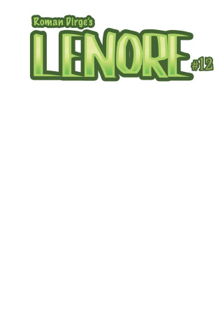 Lenore #1 (Blank Cover)
