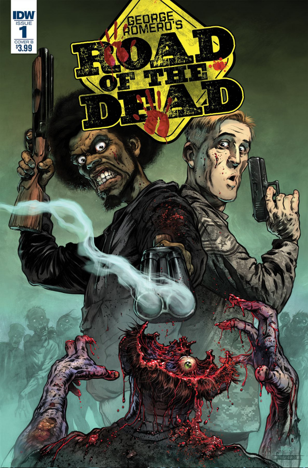 Road of the Dead: Highway to Hell #1 (Moss Cover)