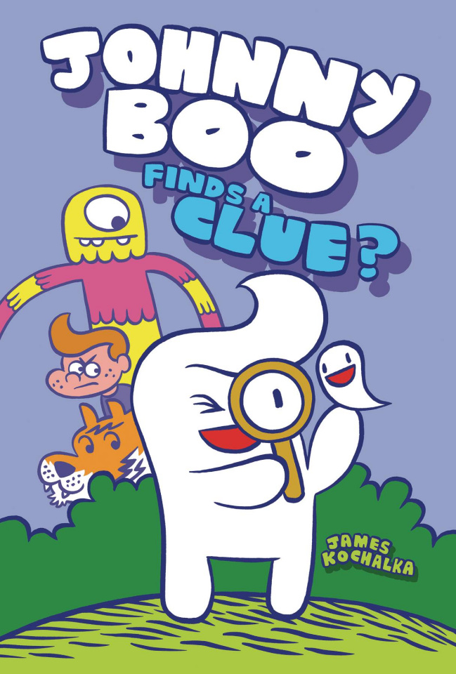 Johnny Boo Vol. 11: Johnny Boo Finds A Clue?