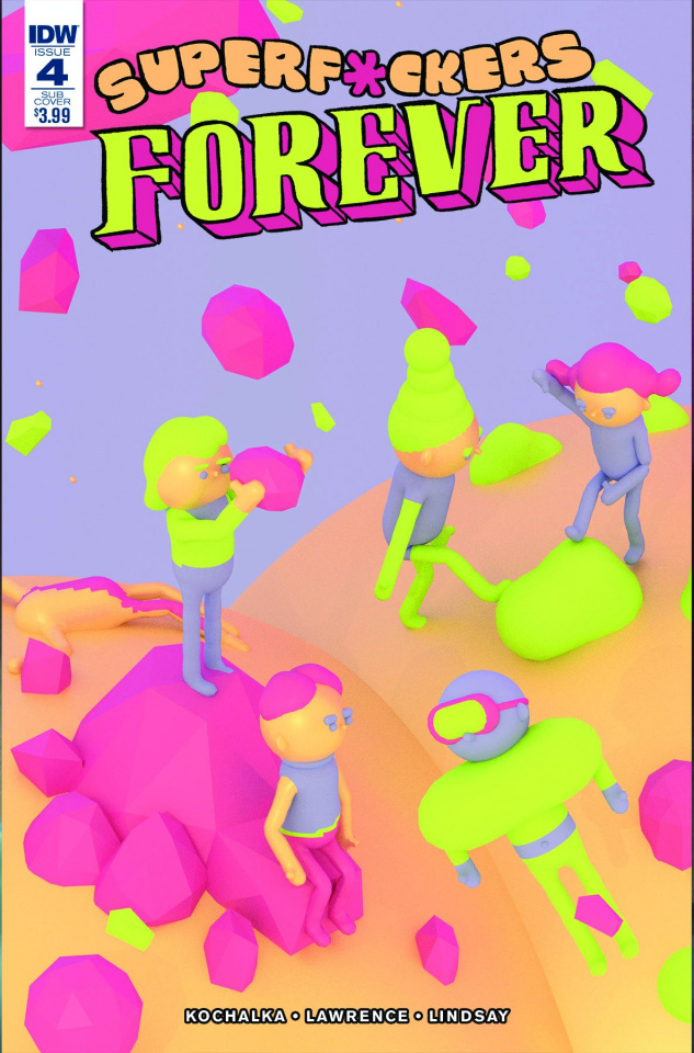 Super F*ckers Forever #4 (Subscription Cover)
