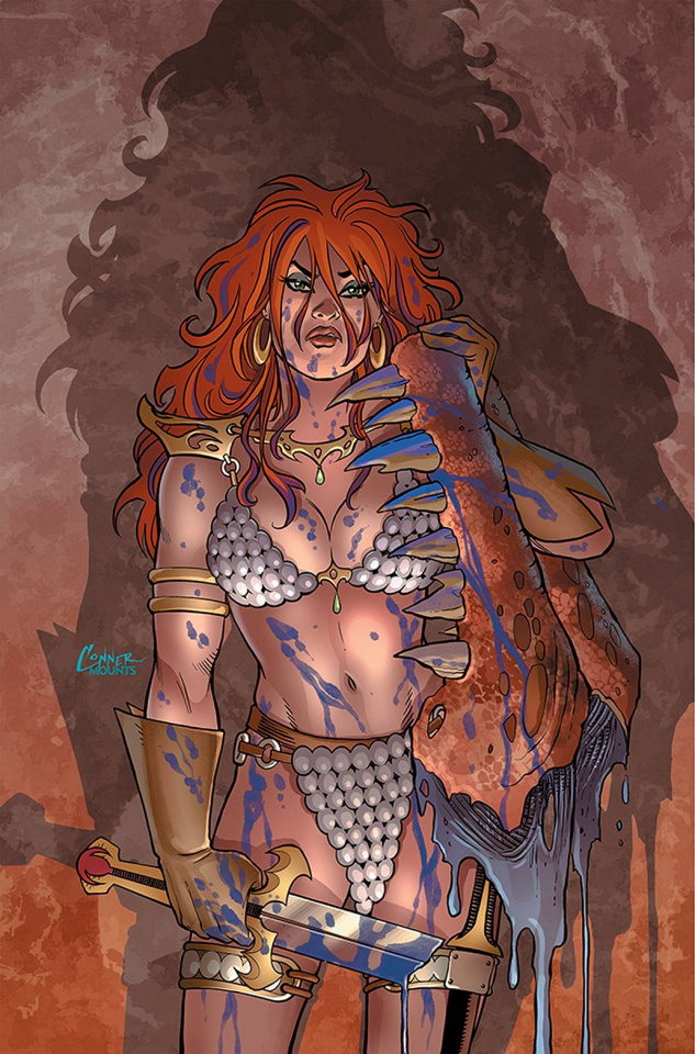 The Invincible Red Sonja #2 (Conner Virgin Cover)