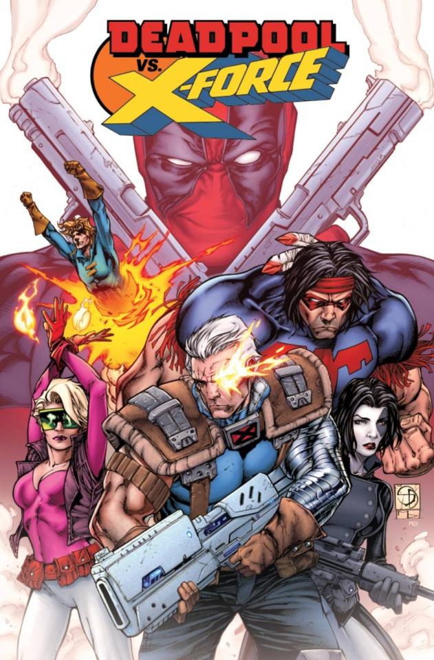 Deadpool vs. X-Force #1