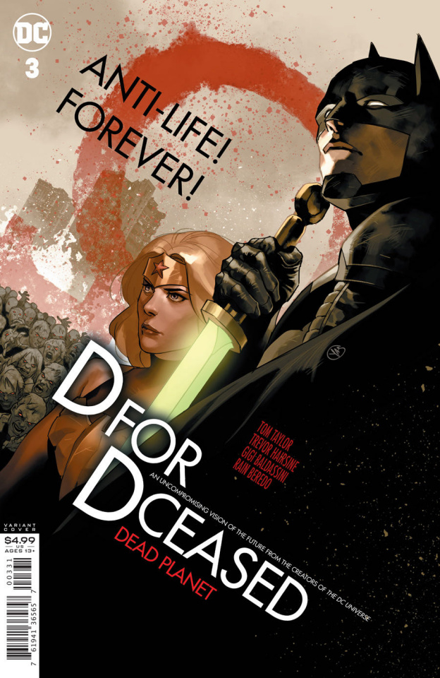 DCeased: Dead Planet #3 (Yasmine Putri Movie Homage Card Stock Cover)