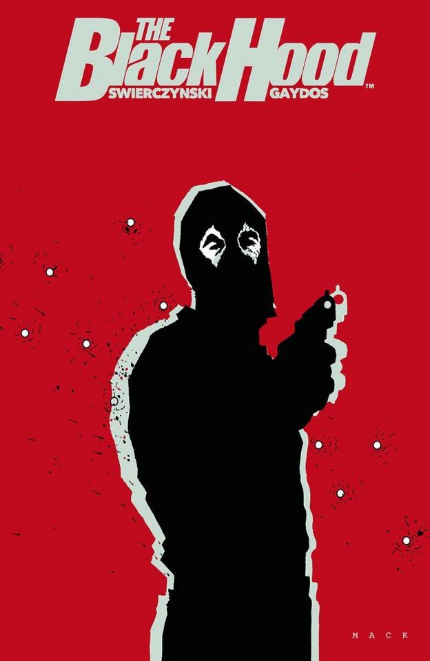 The Black Hood #4 (Mack Cover)