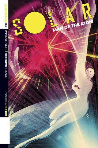 Solar: Man of the Atom #8 (Doe Cover)