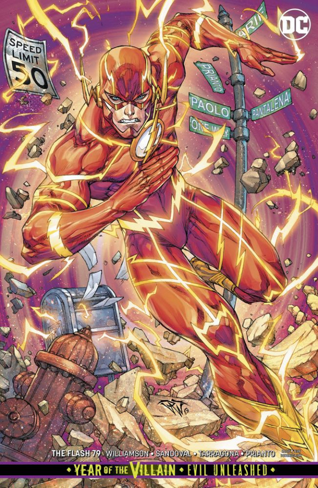 The Flash #79 (Variant Cover)