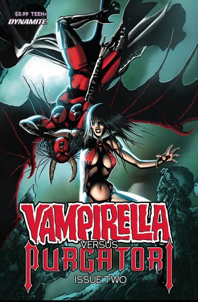 Vampirella vs. Purgatori #2 (Fox Cover)
