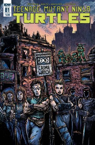 Teenage Mutant Ninja Turtles #81 (Eastman Cover)