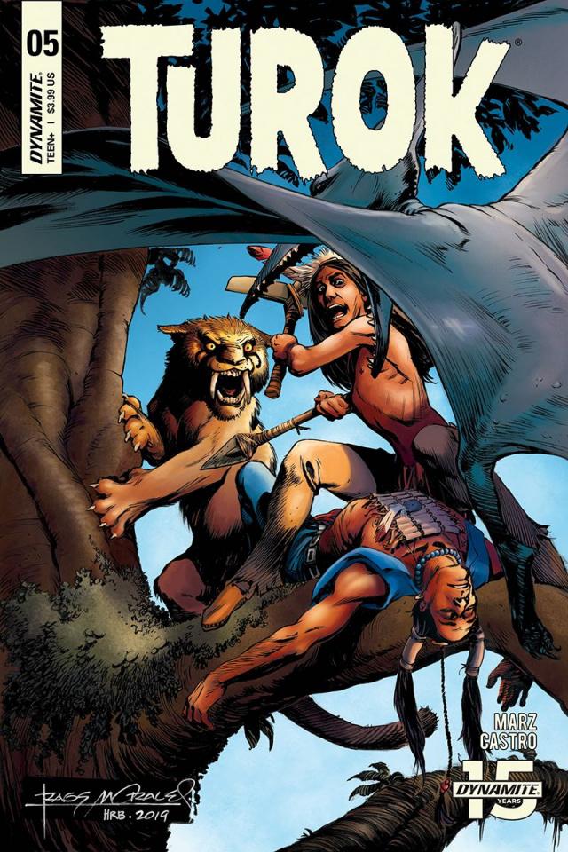 Turok #5 (Morales Cover)